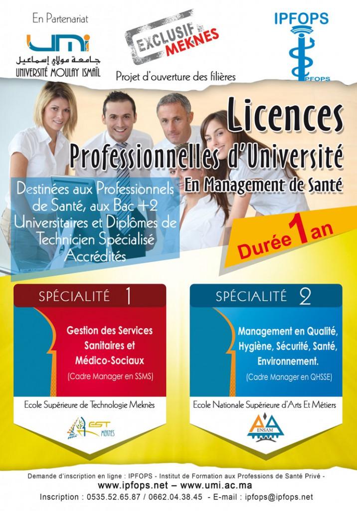 Licence Management de Santé